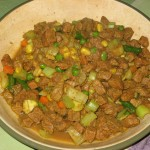 Food of the day: Minced Beef with mixed vegetables