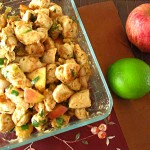 Apple Lime Chicken Stir Fry