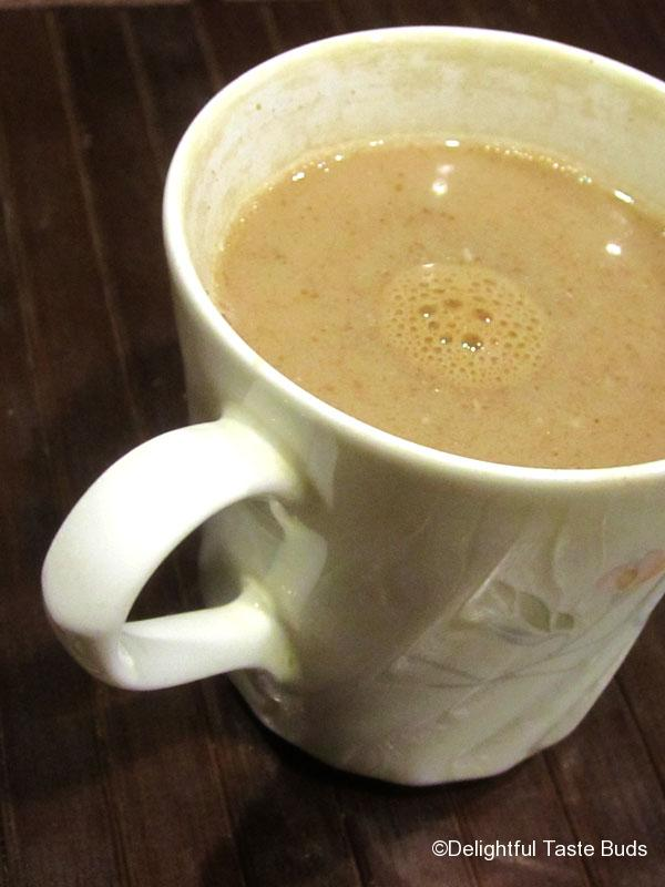 dairy free, sugar free hot chocolate..hmm...