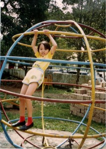 Even as a kid, I didn't have that strength to pull myself up!