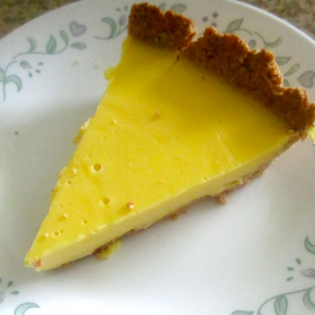 This ain't cheesecake! In fact there's NO dairy in this recipe!