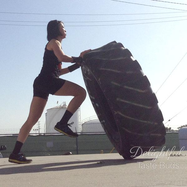 Flipping tire is flipping awesome!
