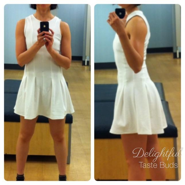 I LOVE this dress style and would buy it IF they have it in color. I just don't like wearing white dress. It's easy to get dirty.