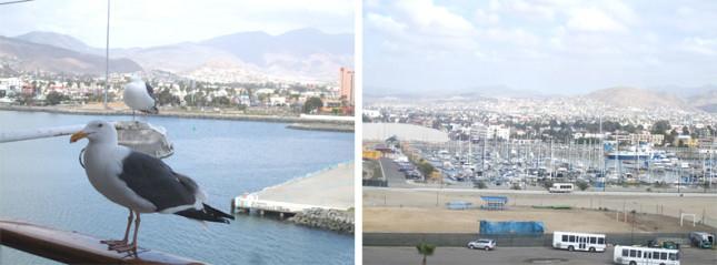 Ensenada port view
