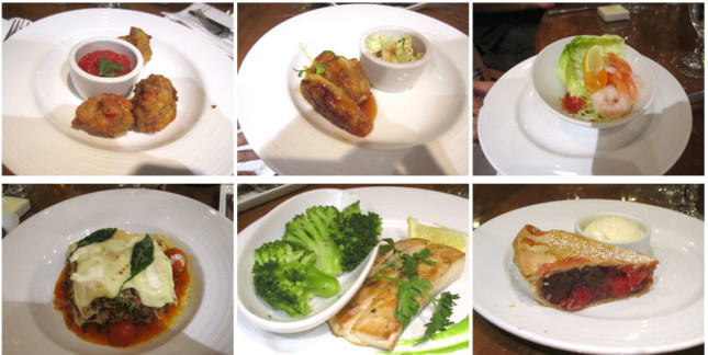 First night - dinner