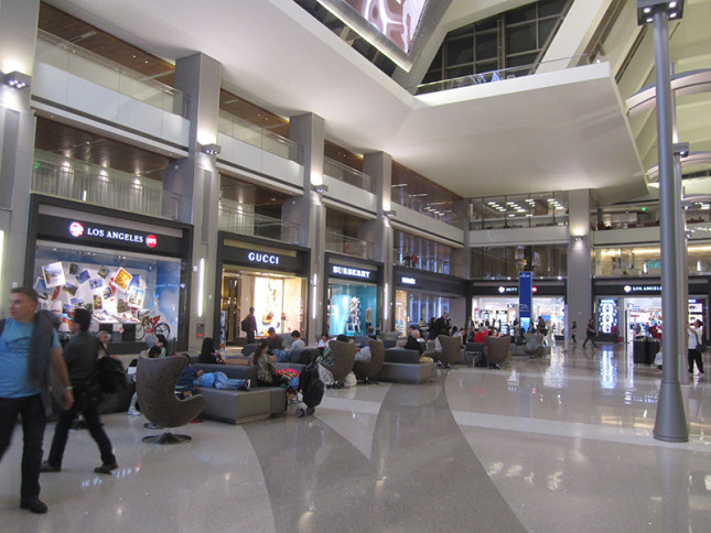 WOW, lots have changed. LAX looks like a mall now!