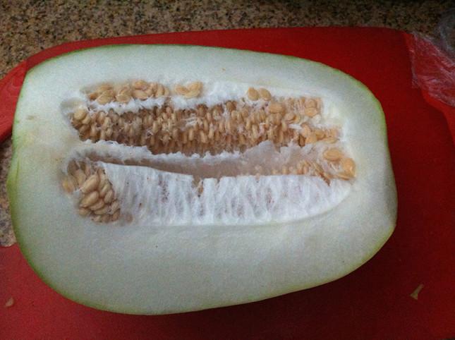 冬瓜 - don gua - literally translated as winter melon